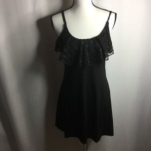 XHILARATION Black Beach Dress / Coverup